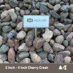 2 - 4 Inch minus Cherry Creek